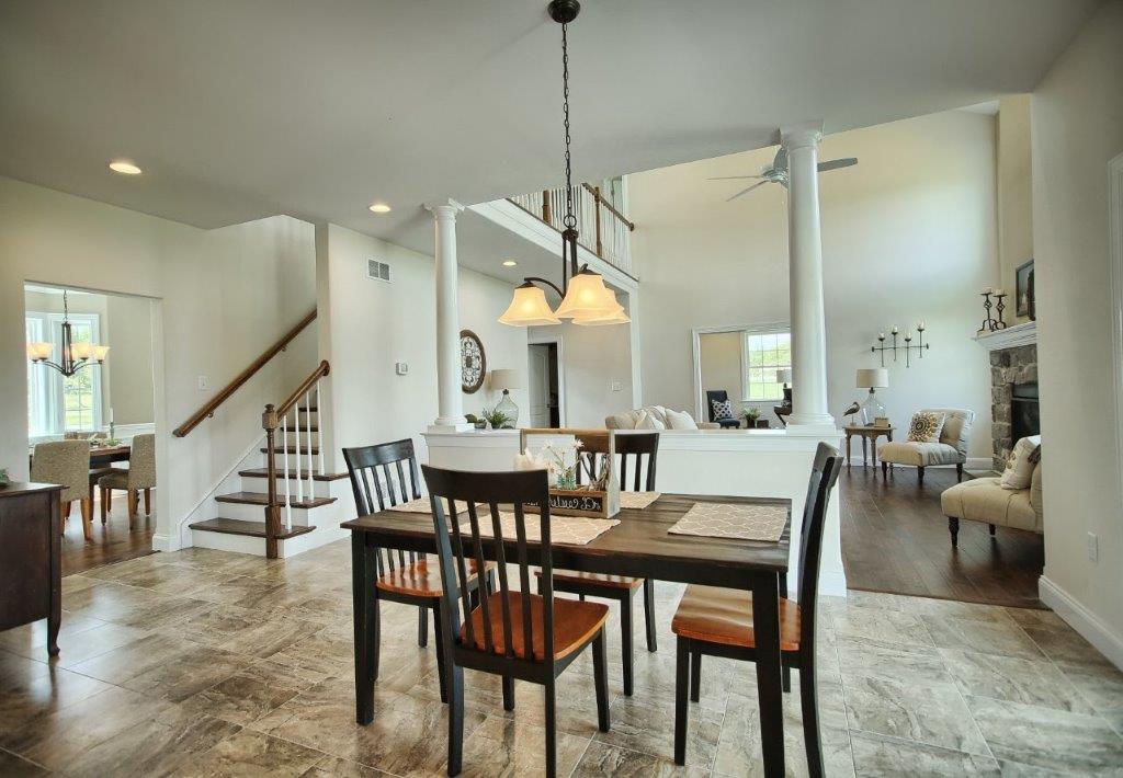 A modern kitchen in a custom home design